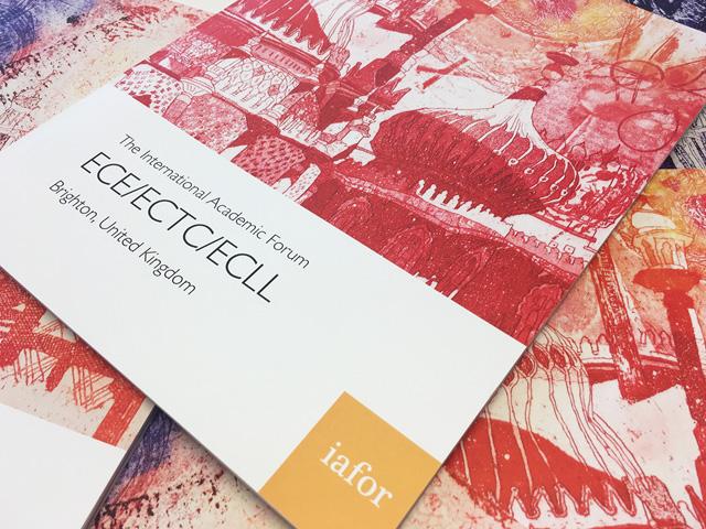 IAFOR brochure printing