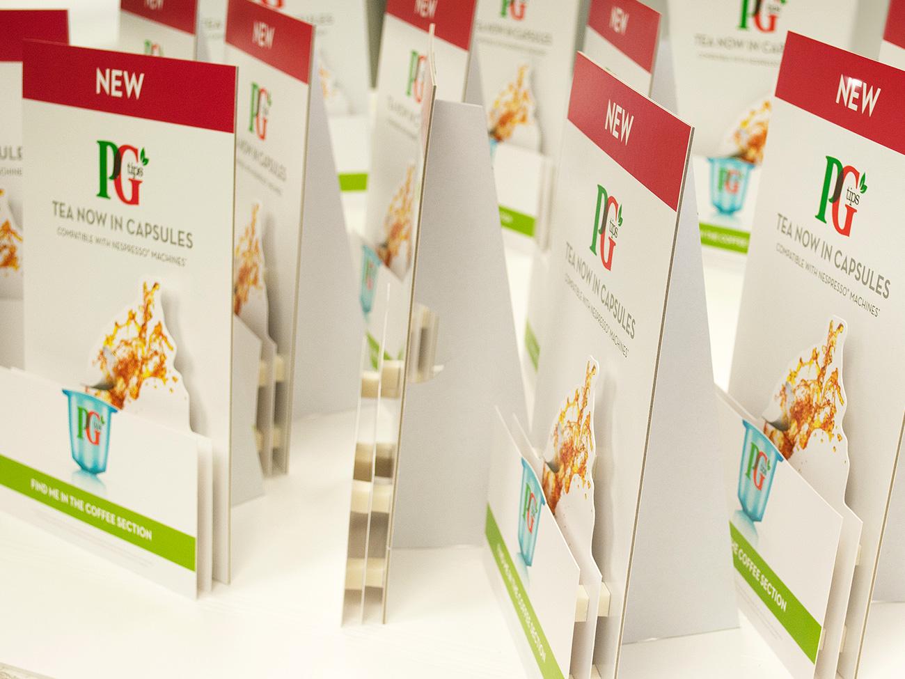 PG Tips Strutcards