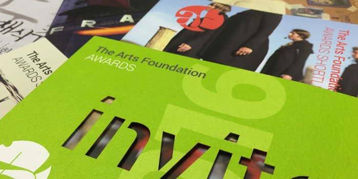 Awards brochure design