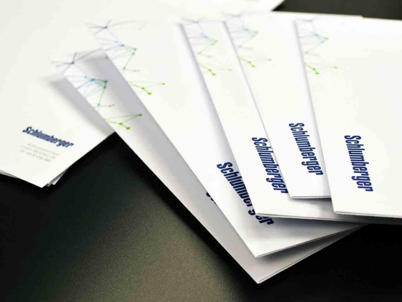 Bespoke hand cut envelopes