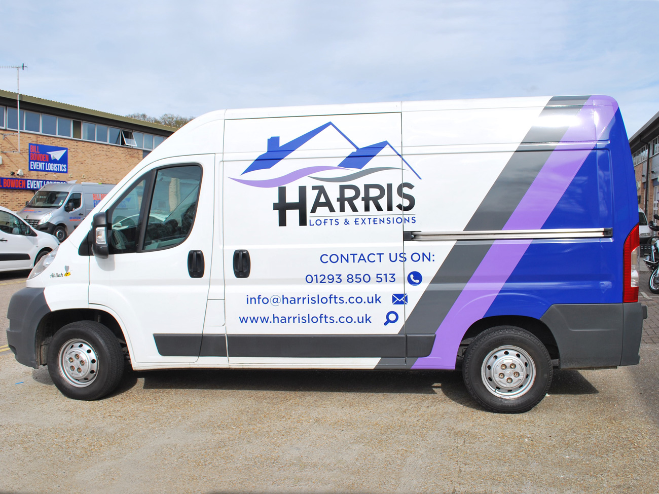Harris Vehicle Branding
