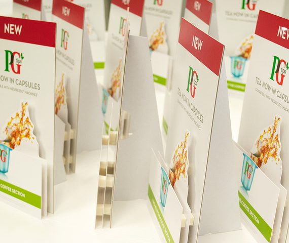 PG Tips Strutcards