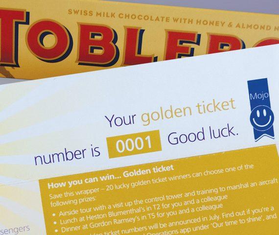 Heathrow Golden Ticket