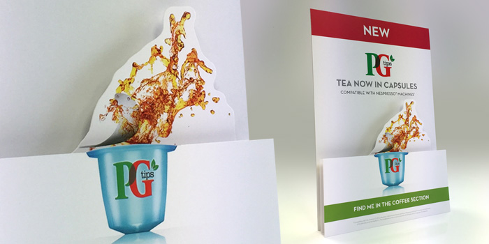PG Tips point of sale