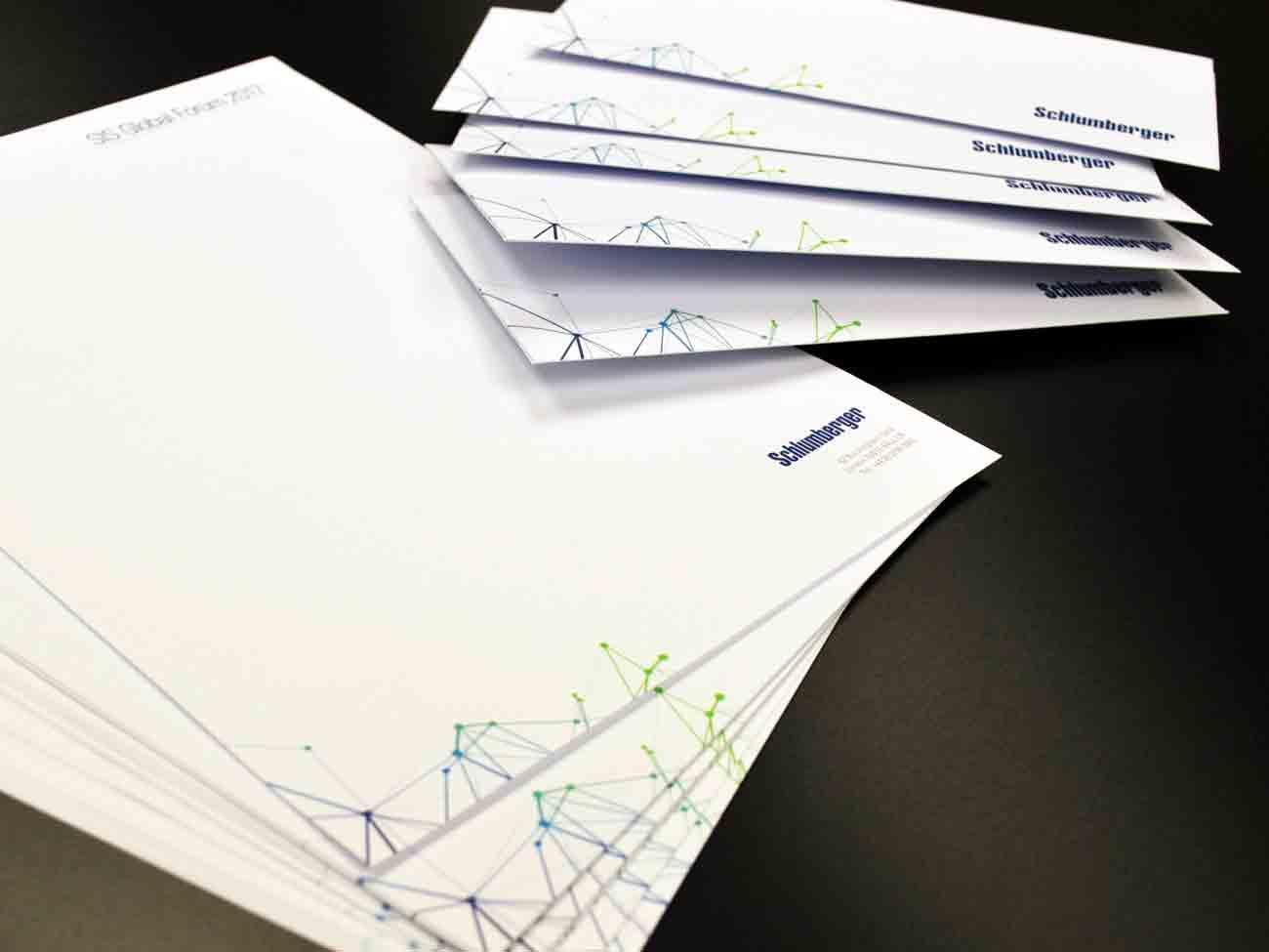 Letterheads and envelopes