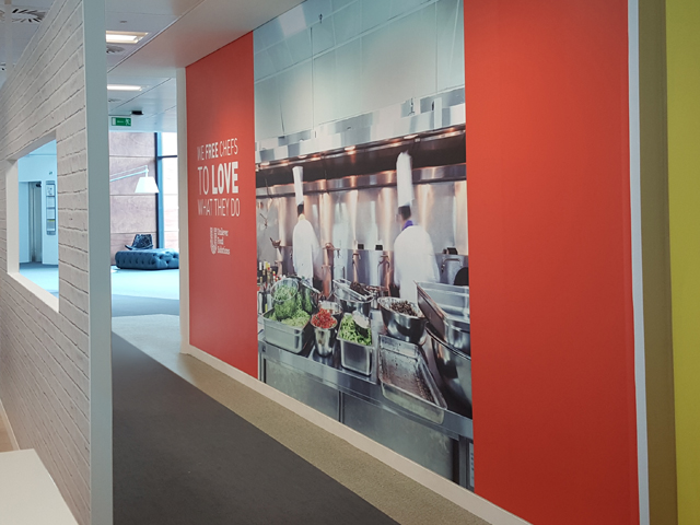 Office display graphics