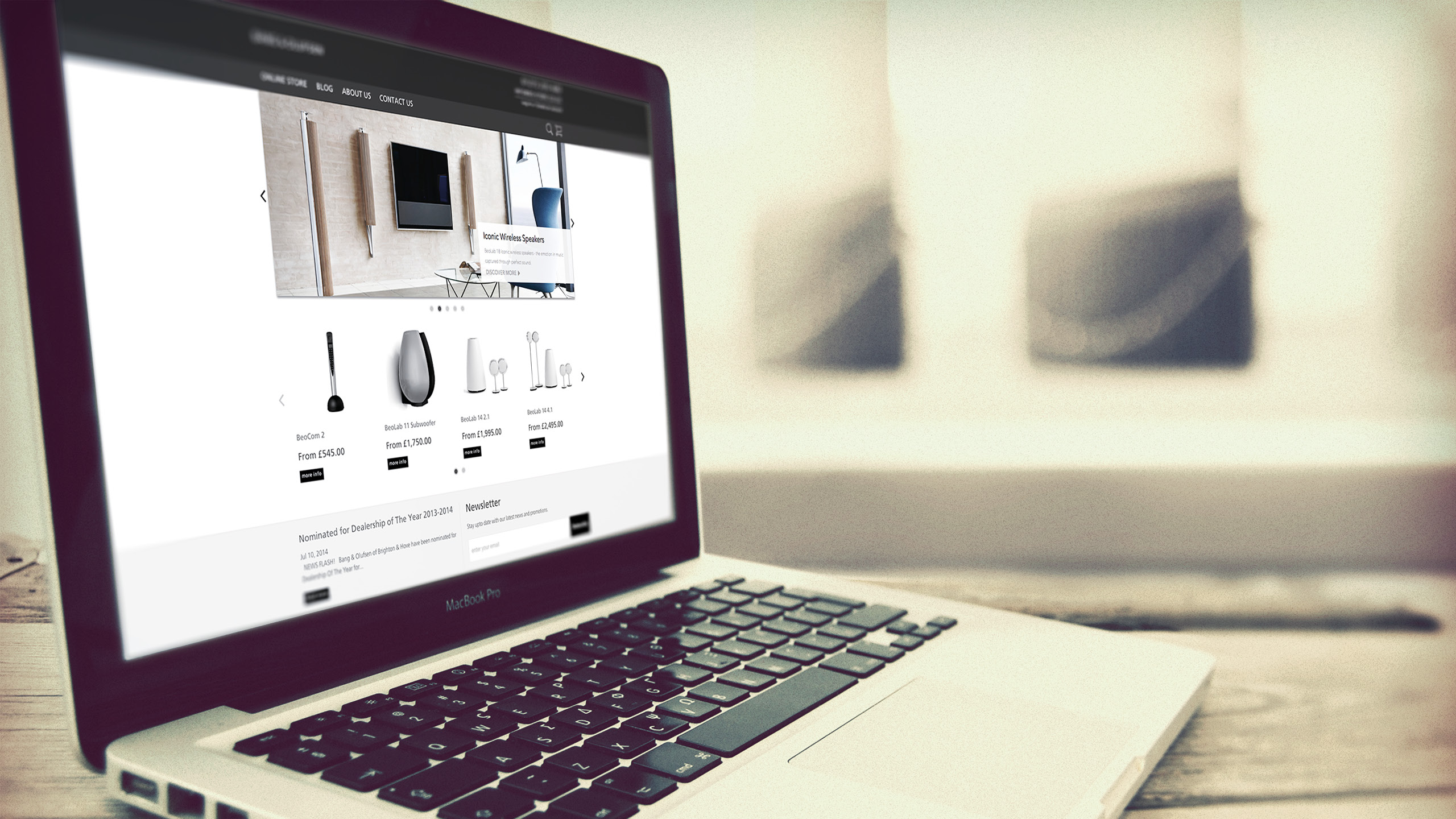 Bang Olufsen Webs Design