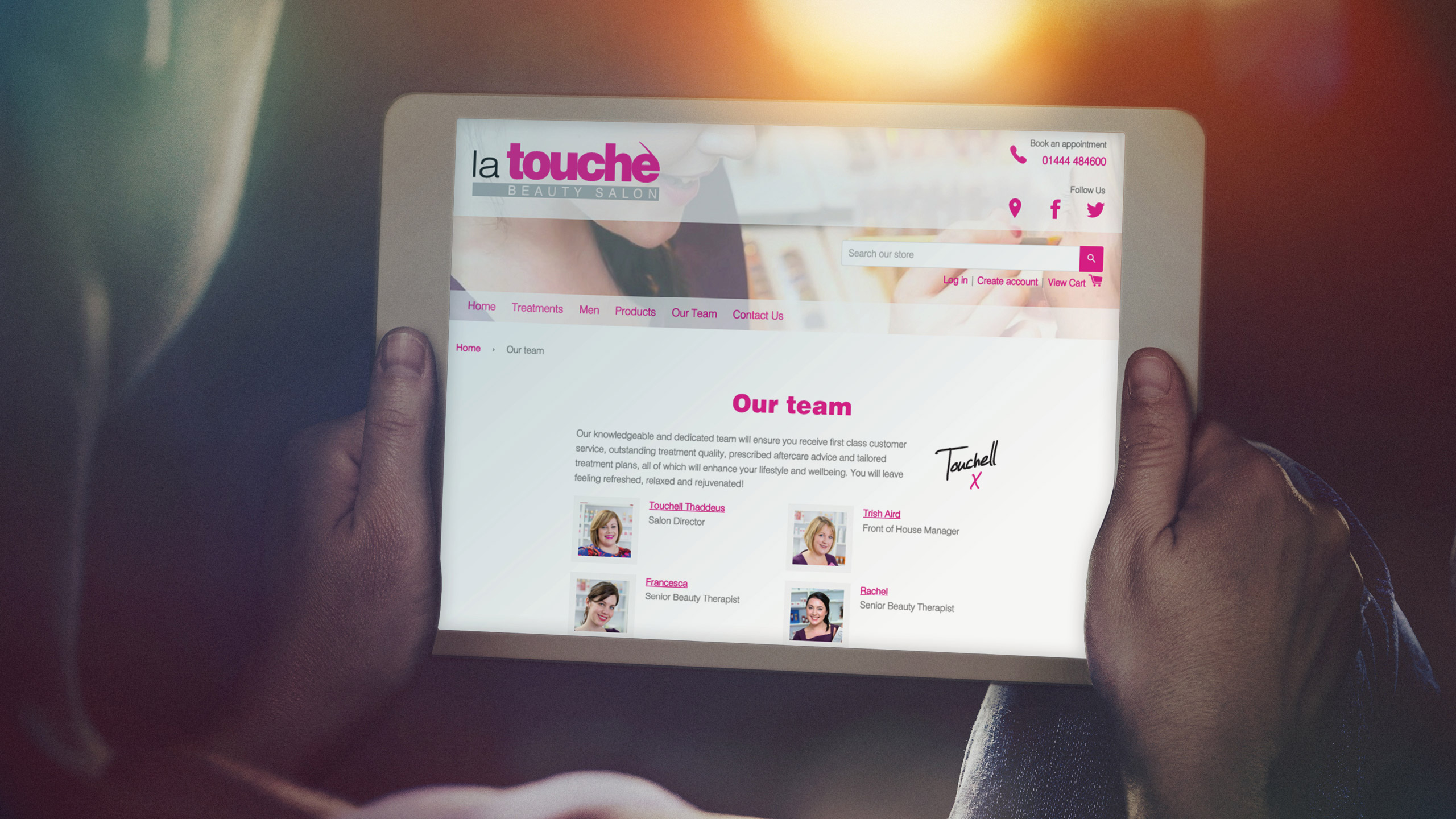 La Touche Tablet