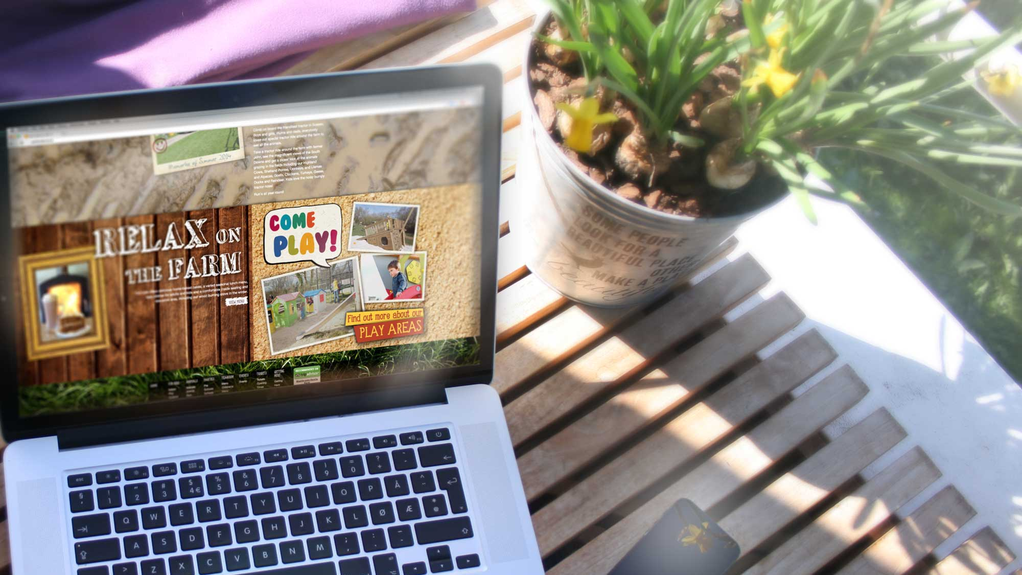 Washbrooks Family Farm Website