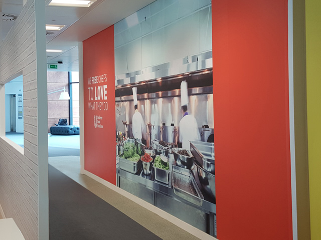 Unilever Wall Graphics