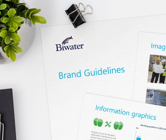 Biwater Branding
