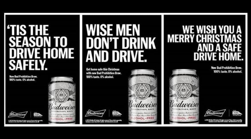 Budweiser-prohibition
