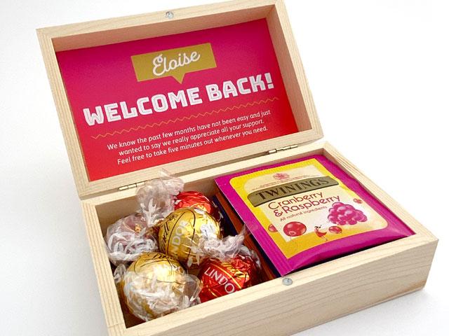 Employee Welcome Back Packs TMB