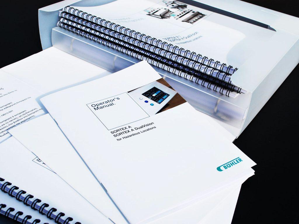 Sortex Booklets