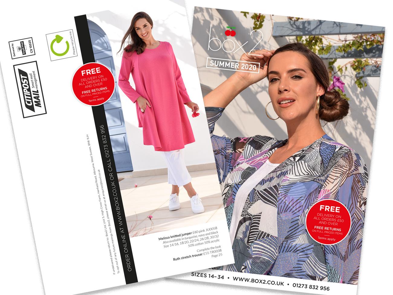 Fashion direct mail