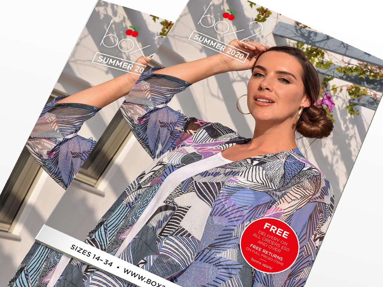 Summer fashion catalogues