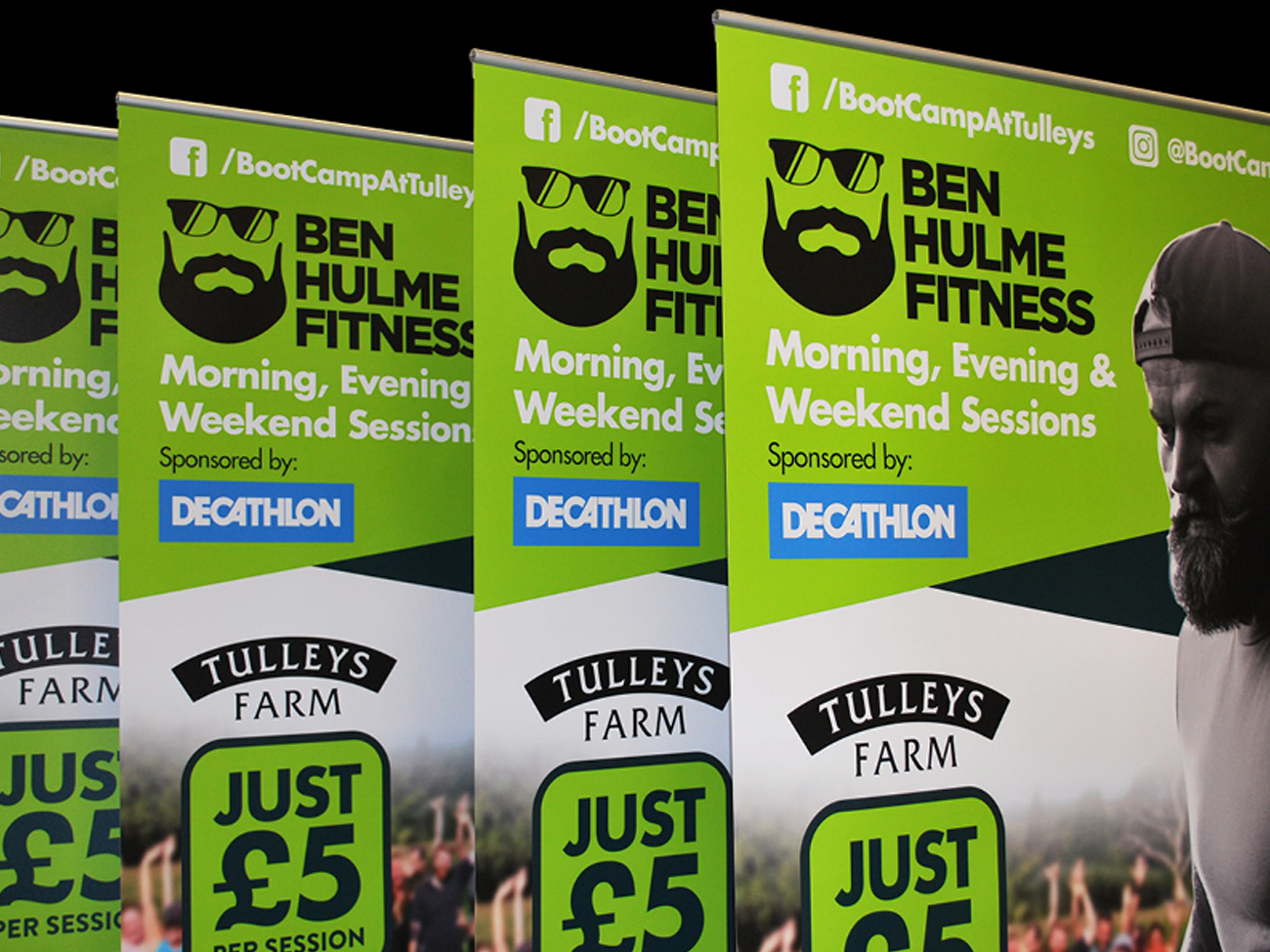 Decthlon Fitness Banners