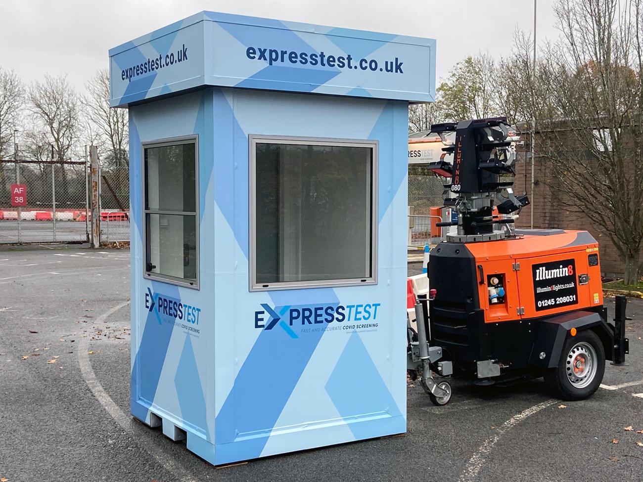 Covid-19 Express Test Gatwick Kiosk