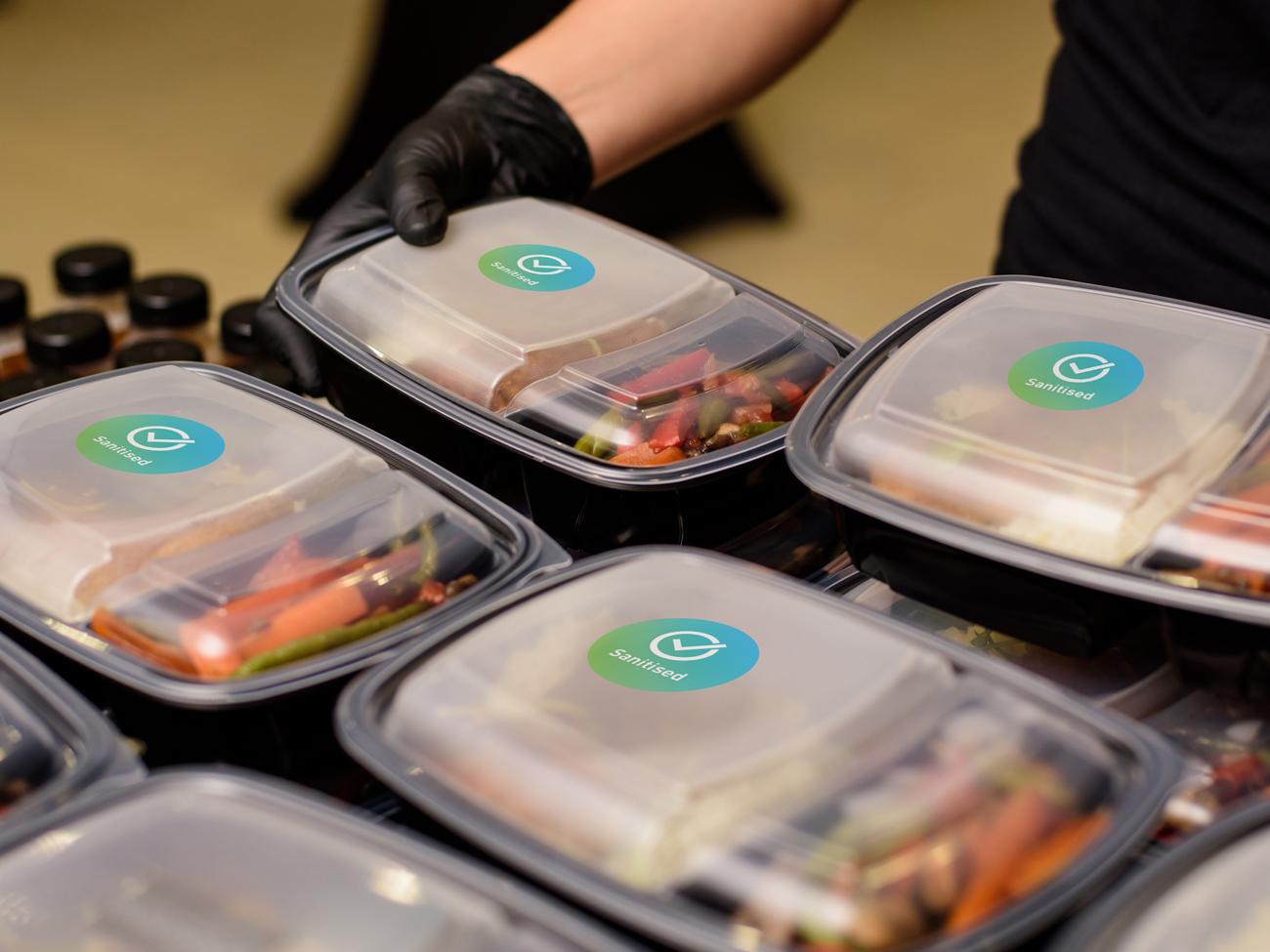 Covid Clean food preperation